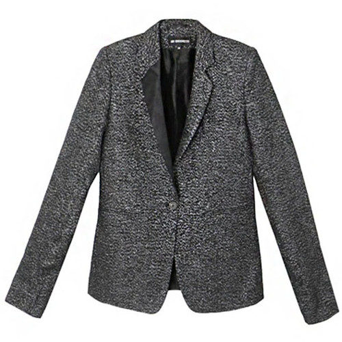 Black Melange Sparkle Jacket