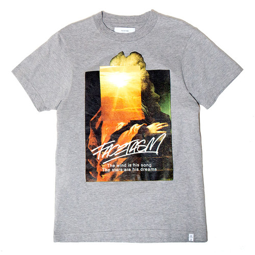Sunset Print Tee Shirt