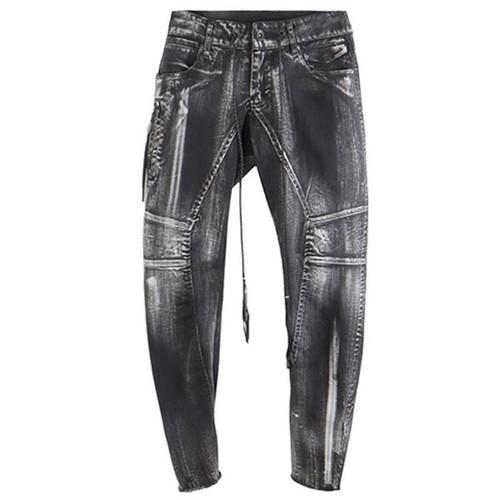Black 'Sputnik' Skinny Pant