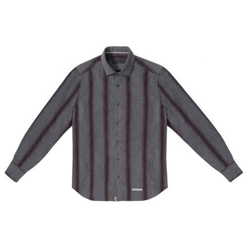 Blanket Stripe Flannel Shirt