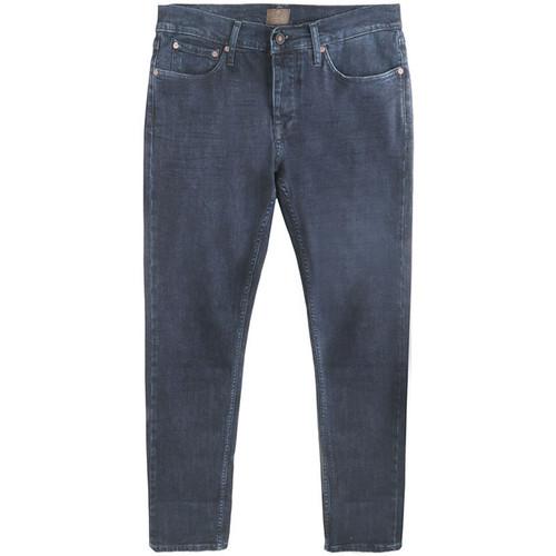 Five Pocket Dark Denim Jeans