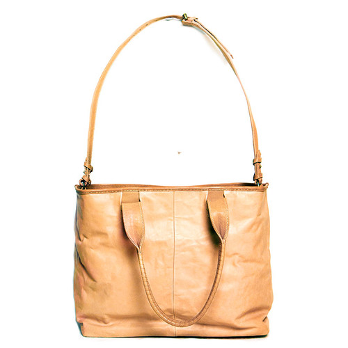 Natural Leather Cornelian Taurus Tote