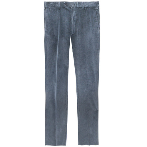 Blue Classic Corduroy Trousers