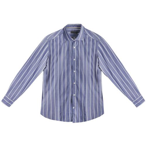 Blue & White Classic Stripe Shirt