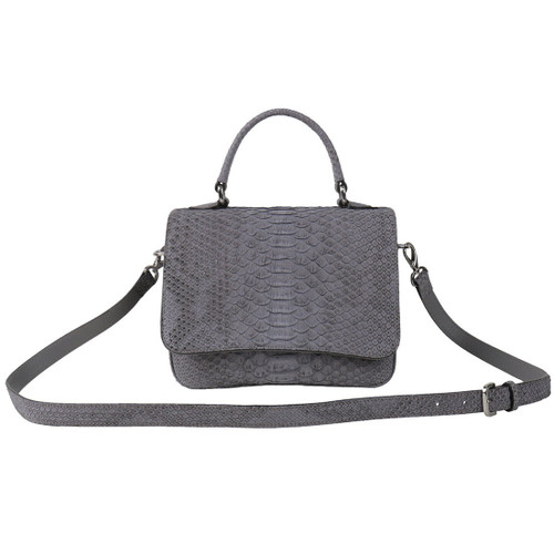 Grey Blue Small Cross Body Bag