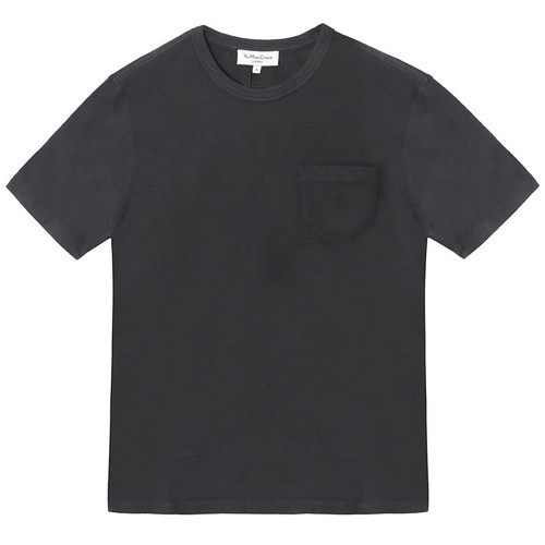 Navy Rounded Pocket Tee