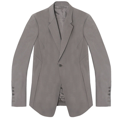 Dust One Button Long Blazer Jacket