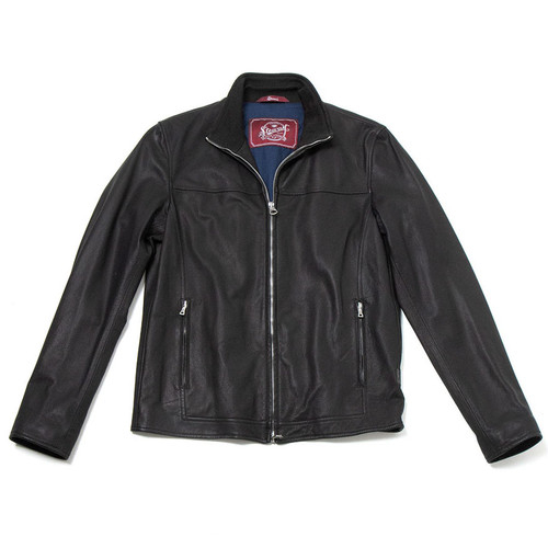 Black Goat Leather Jacket
