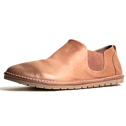 Hazel Leather Gomme Slip On Shoe