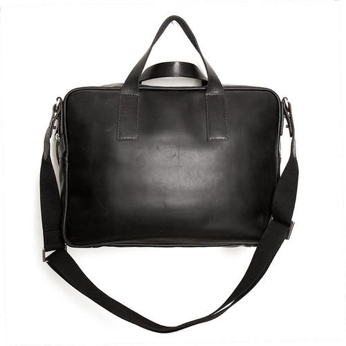 Black Leather Standard Briefcase