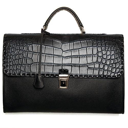 Embossed Alligator Leather Case