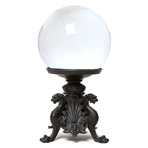 Black Jaguar Crystal Globe