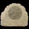 "2 way outdoor rock-shaped speaker, 8"" poly woofer, 1"" titanium tweeter, tan. 5 - 150 watts, 8 ohms."