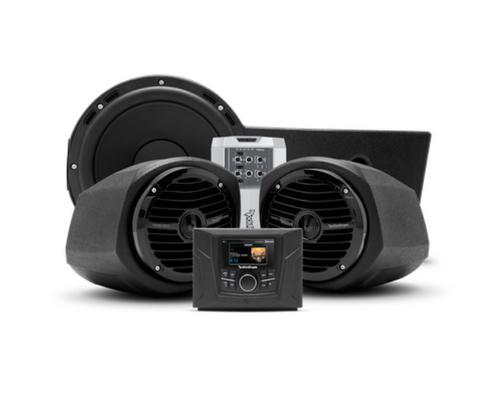 400 watt stereo, front lower speaker, and subwoofer kit for select Polaris GENERAL™