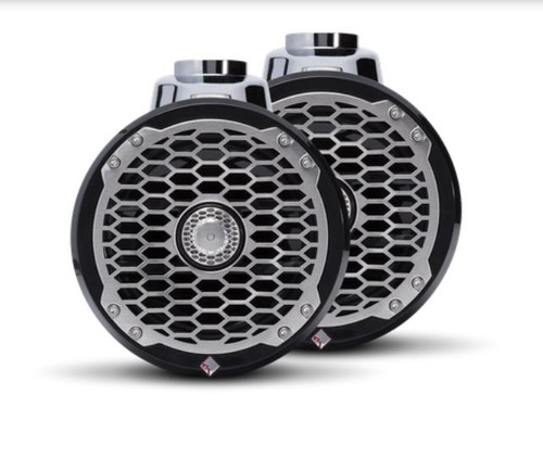 "The PM2652W-B is a Punch 6.5"" 2-way wakeboard tower speaker enclosure featuring marine grade weather proofing technologies. Supplied in all black with a stainless steel sport grille."