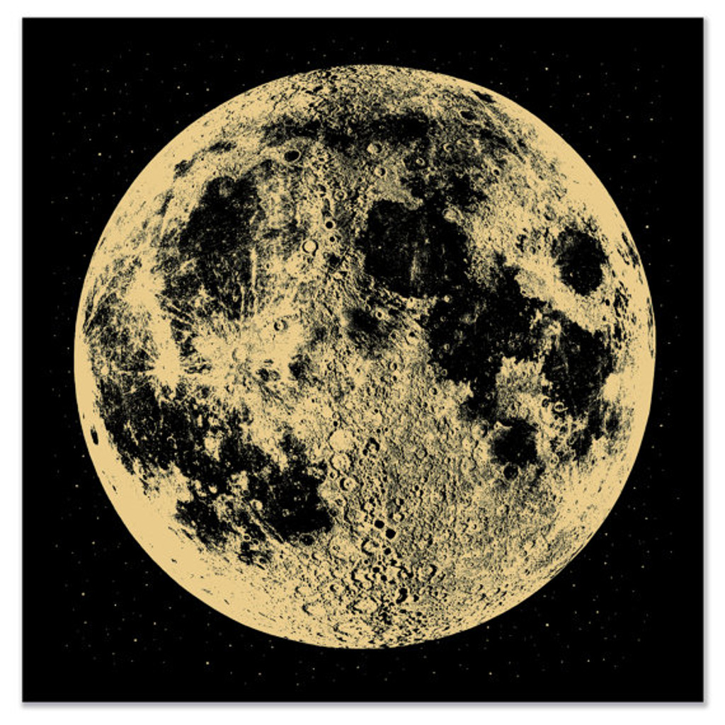 Gold Moon - Limited Edition Print
