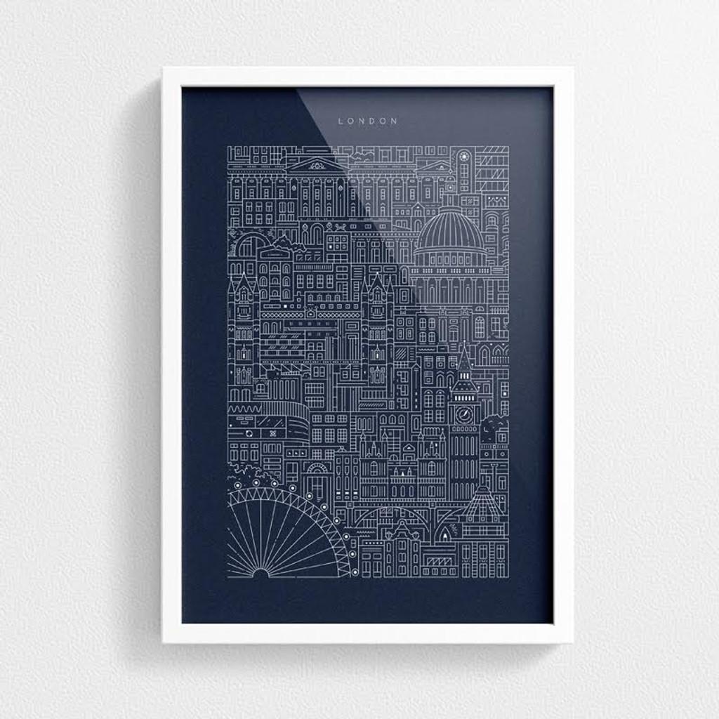 London blueprint east end prints ltd london blueprint malvernweather Images