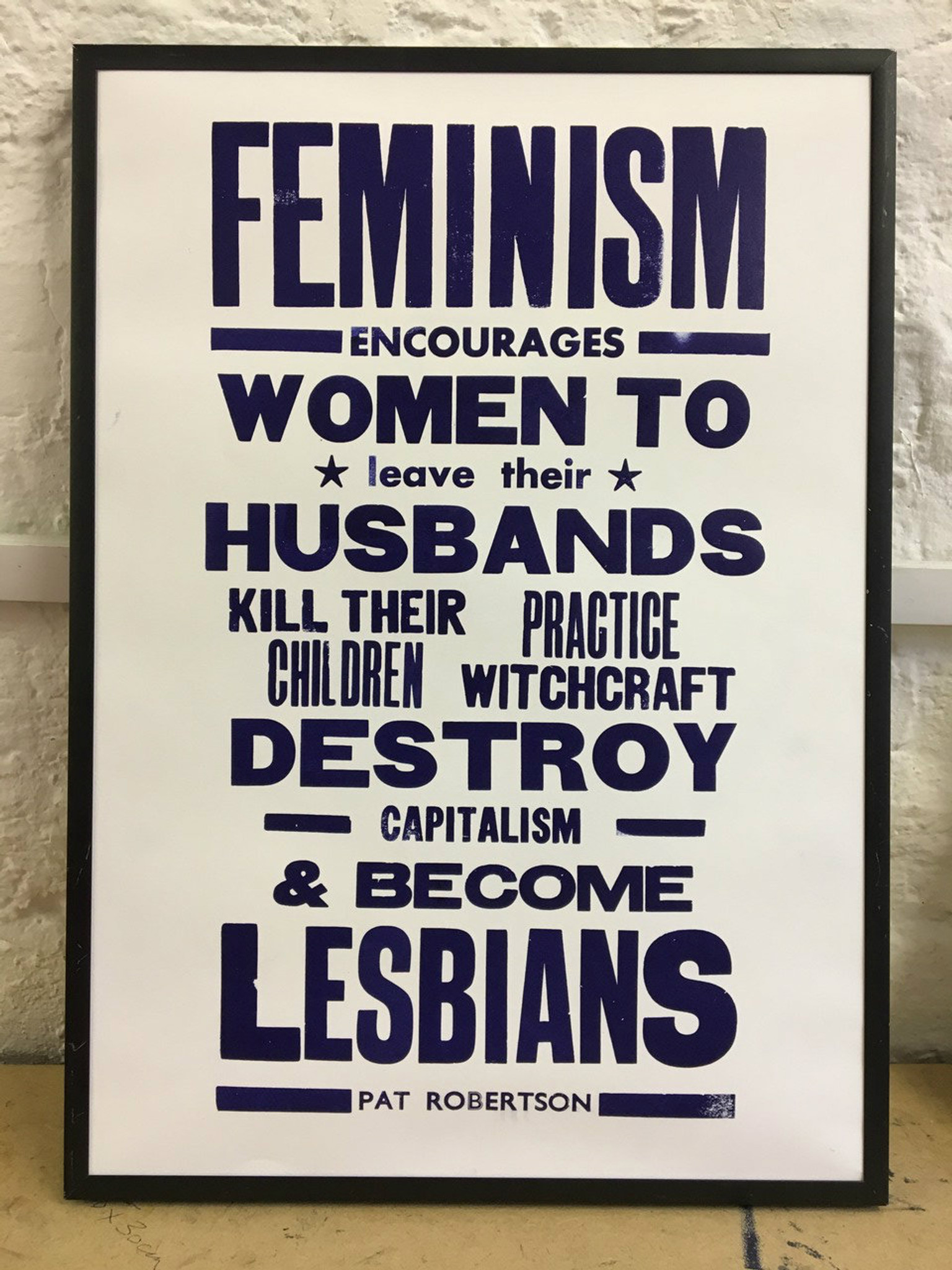 Feminism - Limited Edition Print