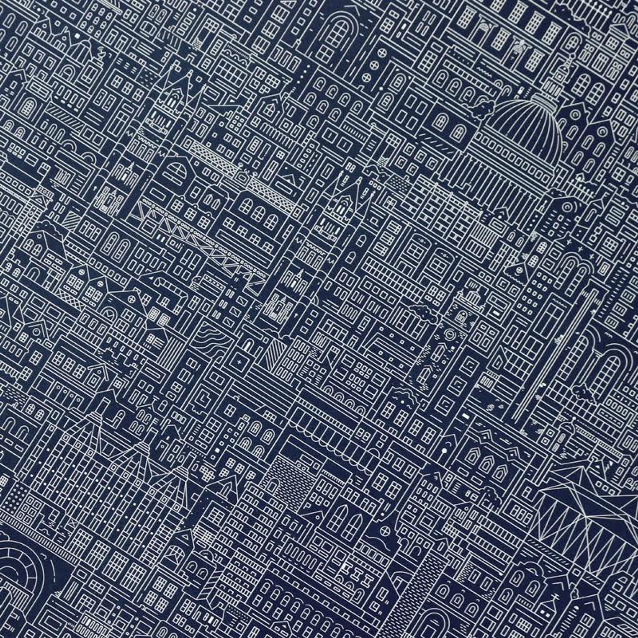 London cityscape blueprint east end prints ltd london cityscape blueprint london cityscape blueprint malvernweather Images