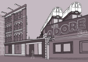 Adore Shoreditch - Limited Edition Print