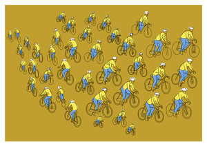 Bikes - Limited Edition Print