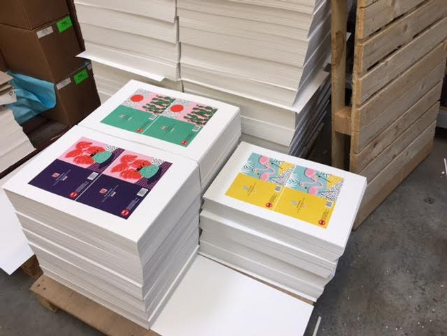 Our greeting card collection is taking over the world! Thanks Paperchase :)