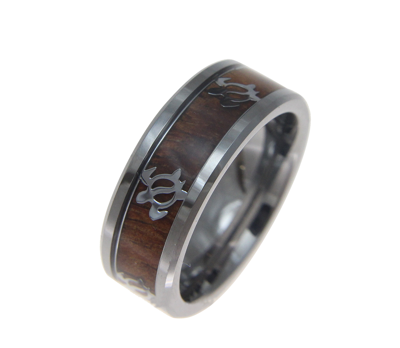 tungsten ring wedding anniversary listing bands zoom antler fullxfull il