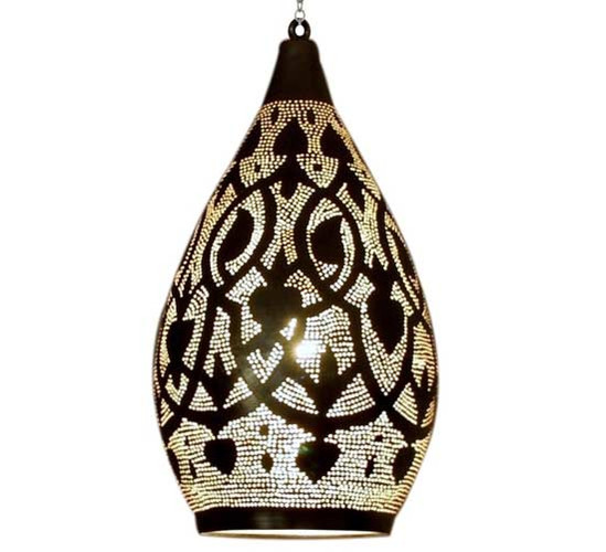 Moroccan Brass Lamp Lighting
