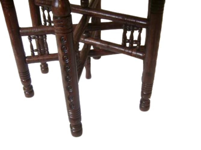 Moroccan Tray Table; Table Wood Stand