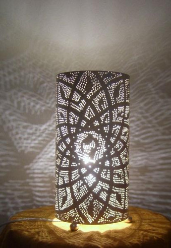 Moroccan Brass Table Lamp Lantern · Moroccan Brass Table Lamp Lantern ...