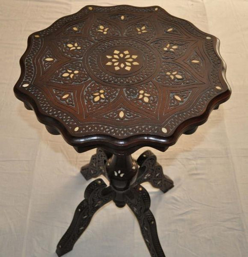 Vintage Syrian Coffee Side Table