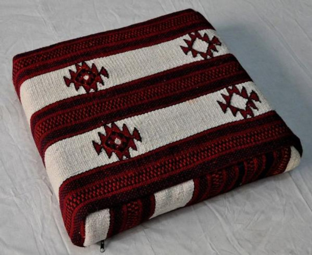 Egyptian Bedouin Kilim Kelim Seating cushions pillows- PAIR