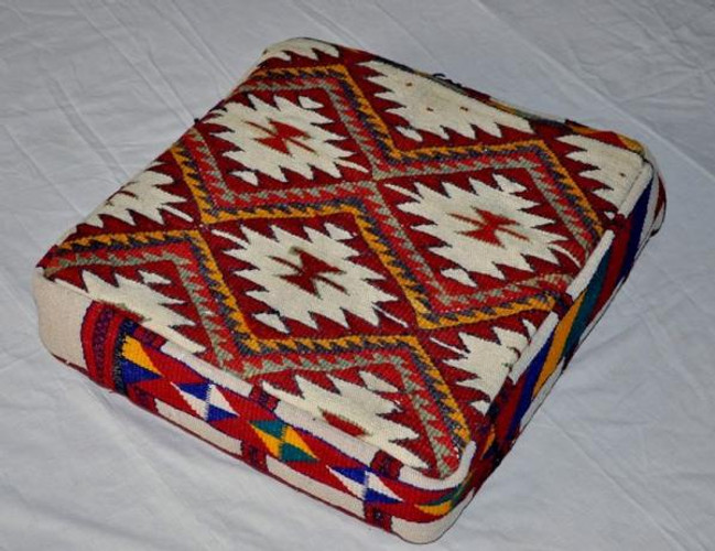 Egyptian Bedouin Kilim Kelim Seating cushions-Pair