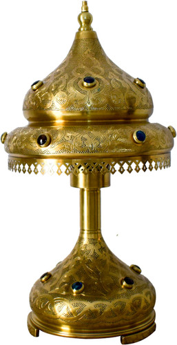 Traditional solid brass table lamps