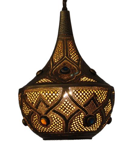 Moroccan Light Fixtures Brass Lamp Brass Table Lamp E Kenoz
