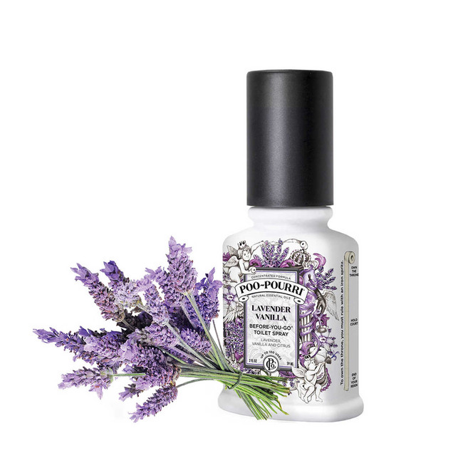 Poo Pourri Before-You-Go Toilet Spray Lavender Vanilla 2oz.