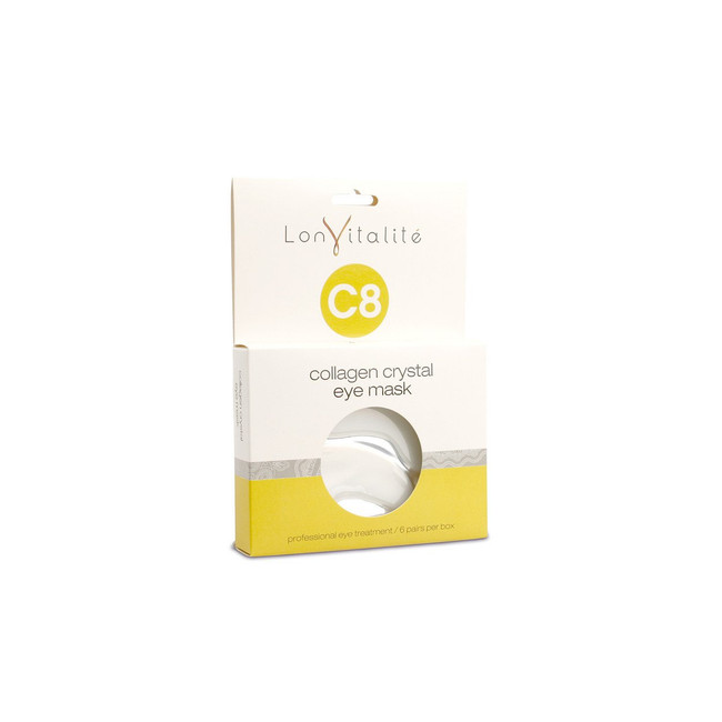 Lonvitalite C8 Collagen Crystal Eye Masks