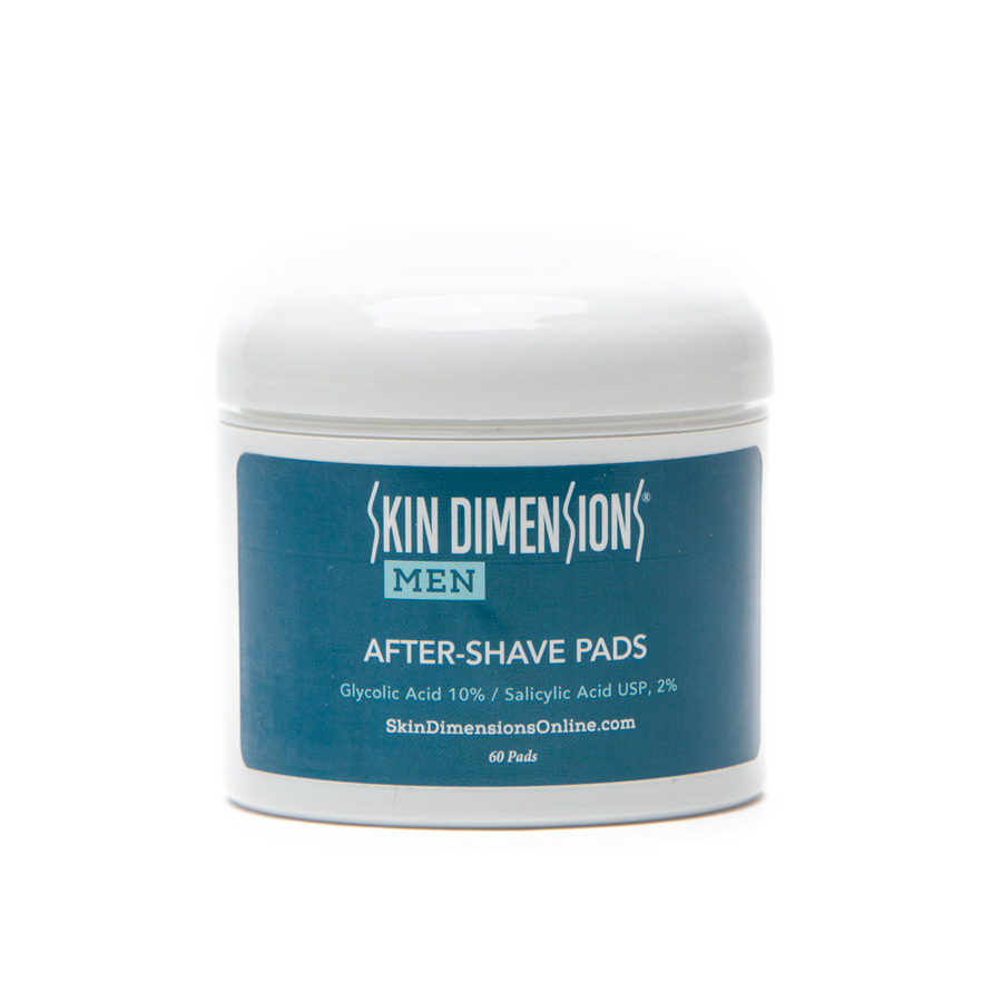 Skin Dimensions Mens After Shave Pads