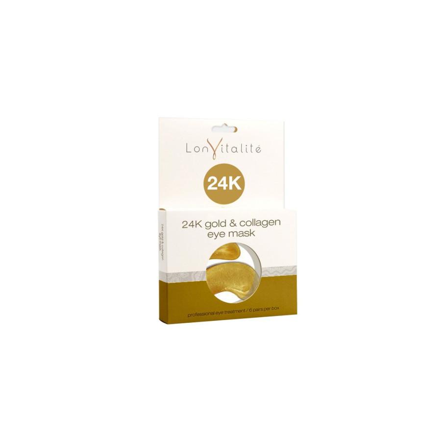 Lonvitalite 24K Gold & Collagen Eye Masks