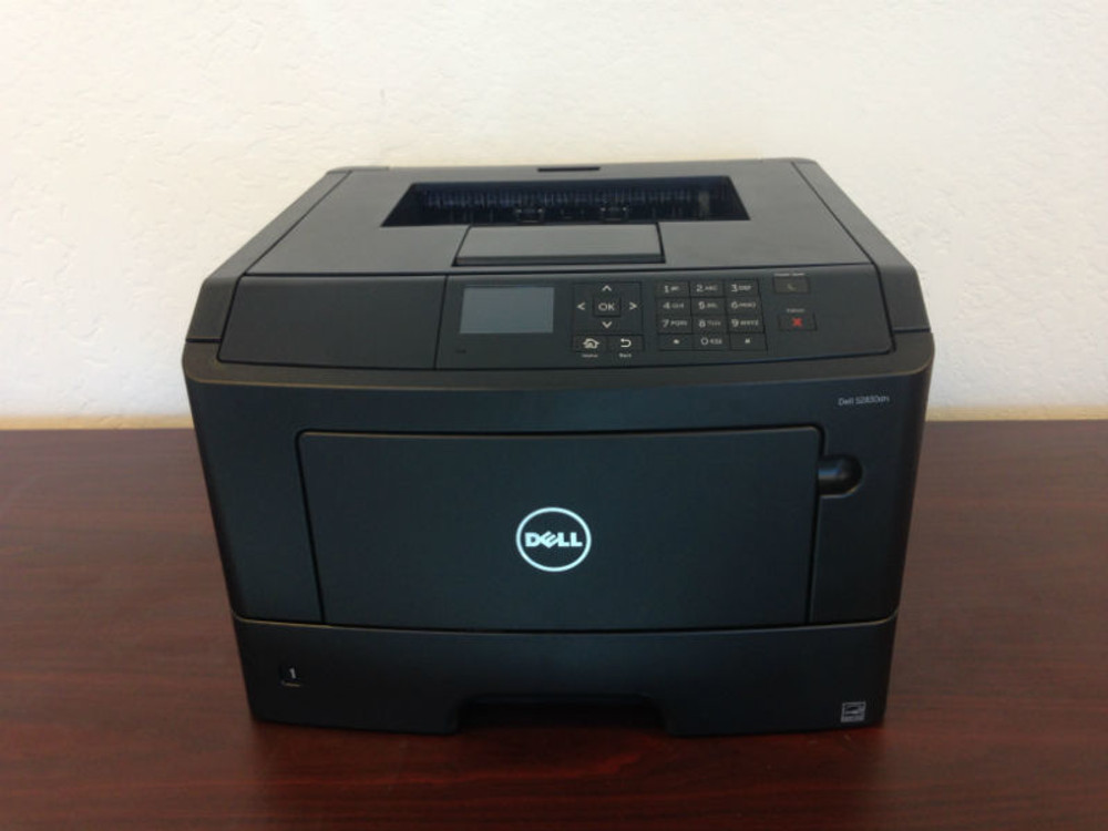 Dell S2830dn: How to Print on Labels