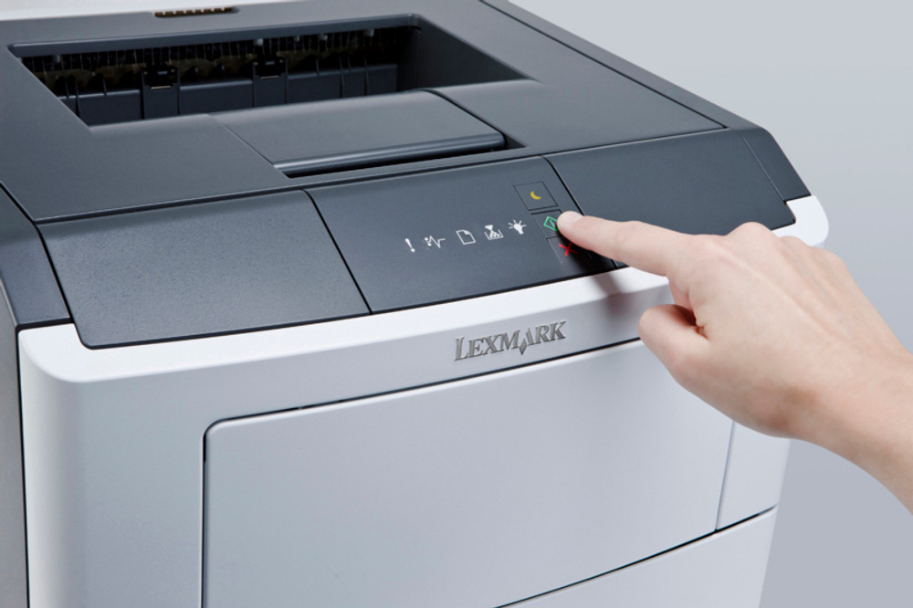 MS310 / MS312 Indicator Lights: Light Print Jobs