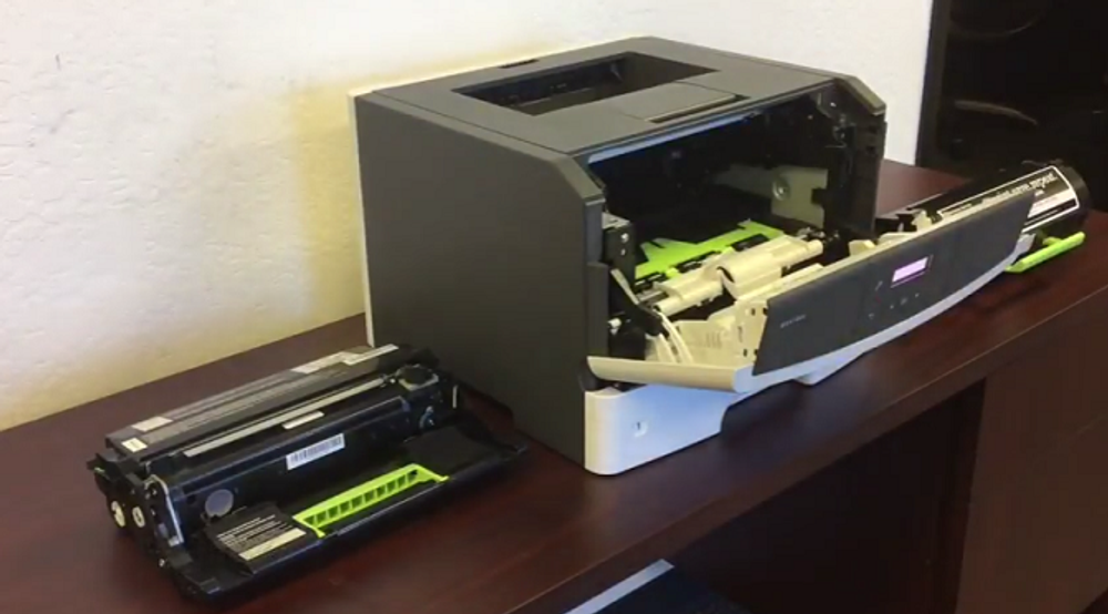 Lexmark MS317dn: How to Replace the Imaging Drum Unit