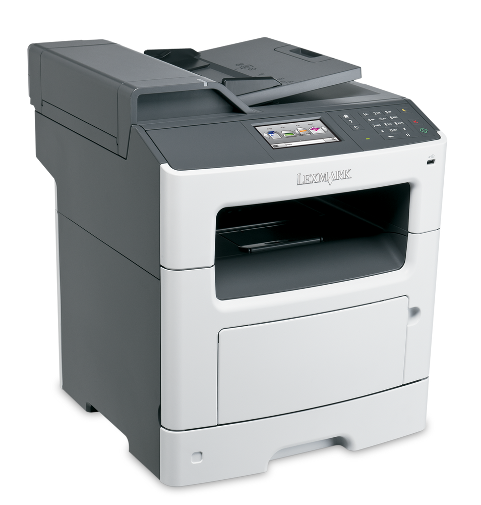Lexmark MX410de: How to Print on Labels