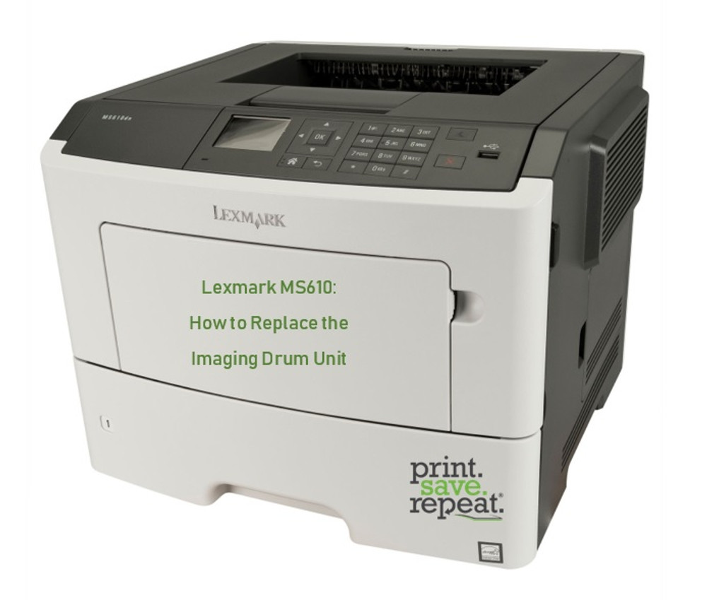Lexmark MS610: How to Change the Imaging Drum Unit