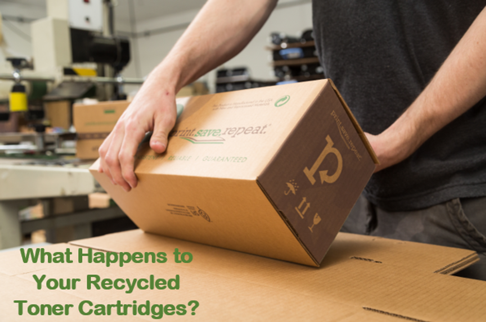 What Your Happens to Your Recycled Toner Cartridges?