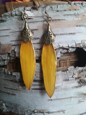 Sunflower Petal Earrings (#YL12173)