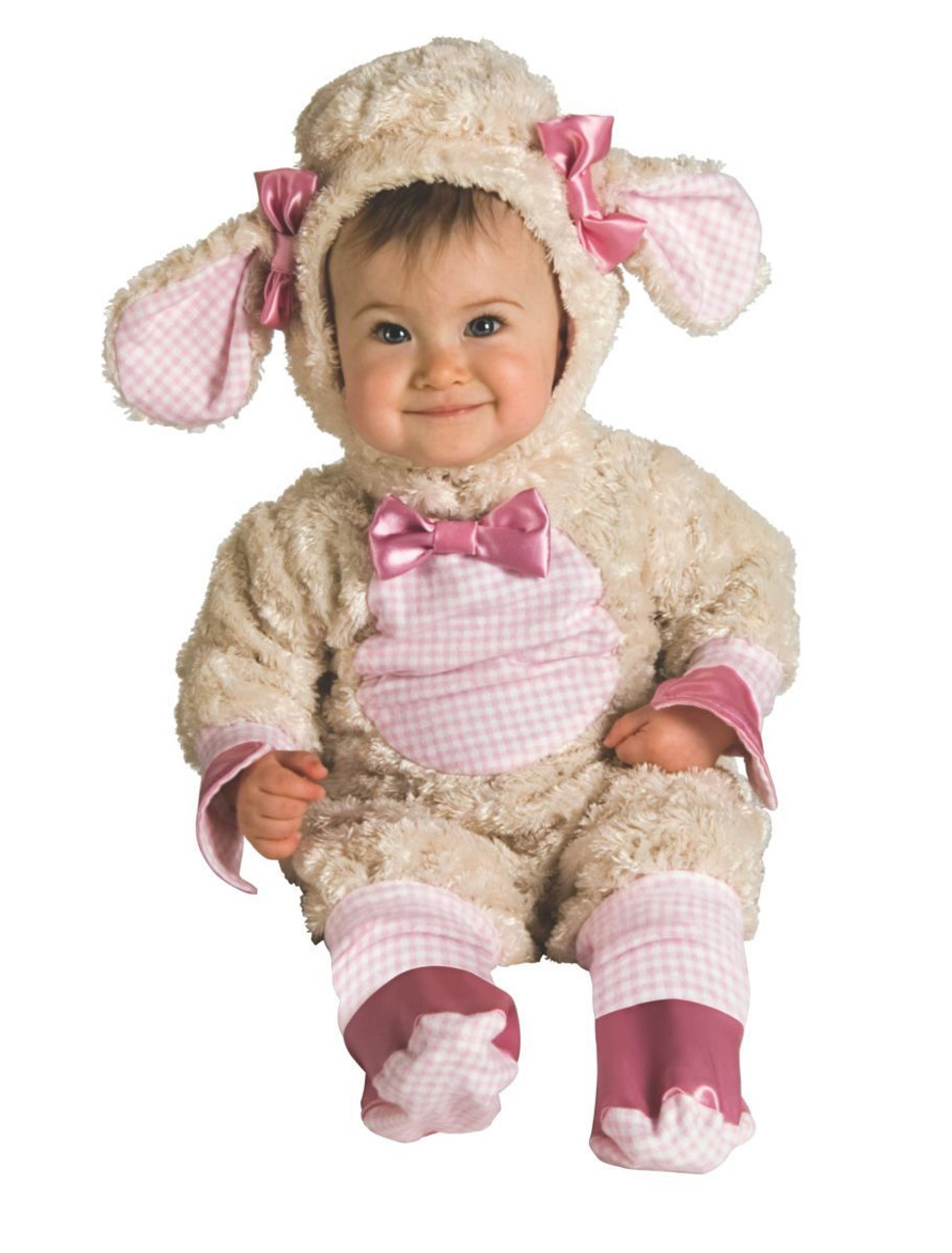 rubies lucky lil lamb animal adorable infant baby halloween costume 885354