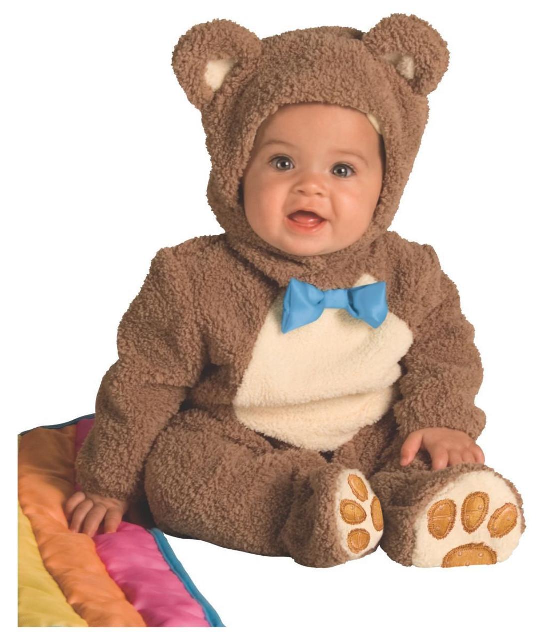 rubies oatmeal brown bear rainbow blanket infant halloween costume