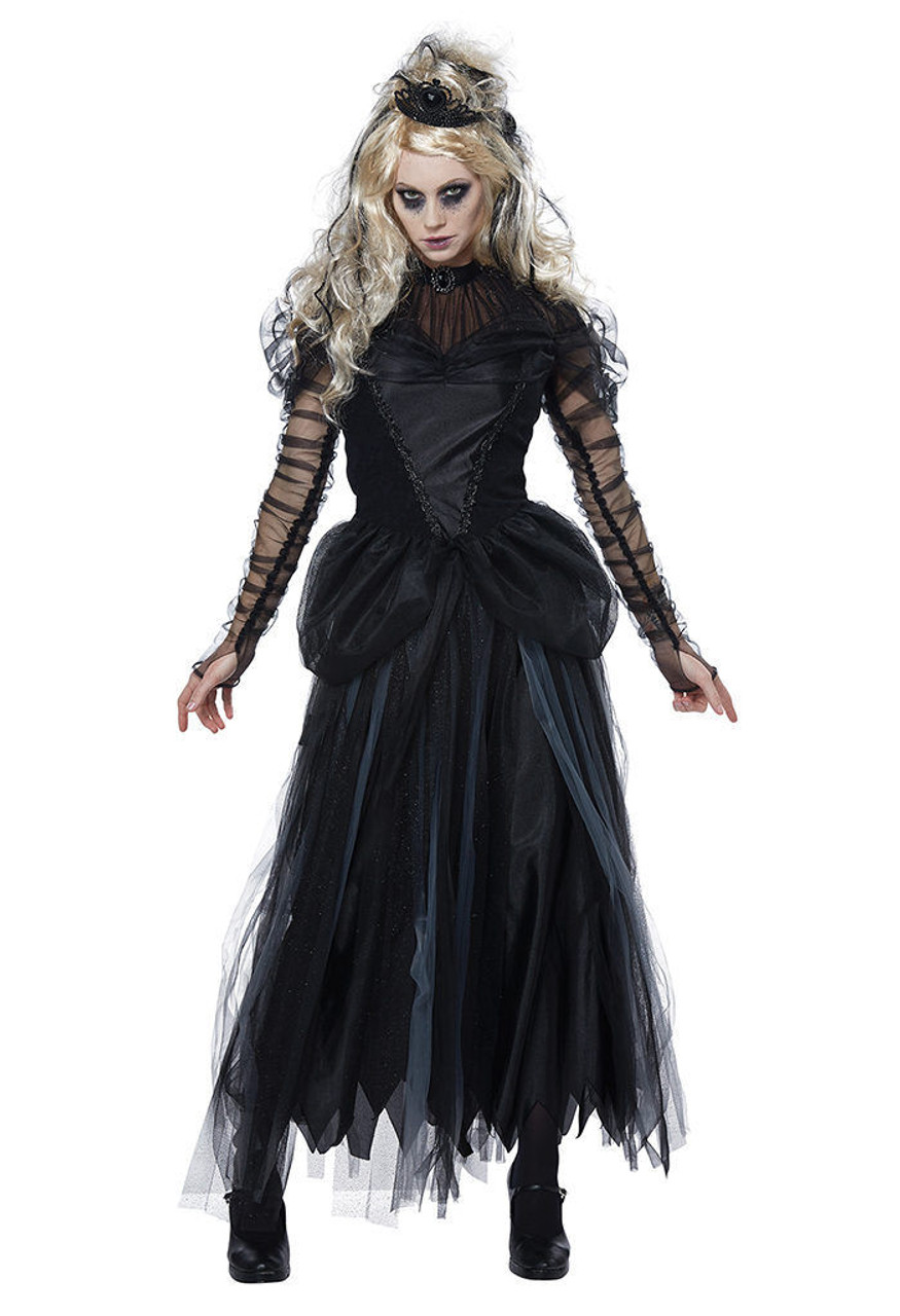 California Costumes Dark Princess Adult Womens Gothic Halloween Costume 01457  sc 1 st  Fearless Apparel & California Costumes Dark Princess Adult Womens Gothic Halloween ...