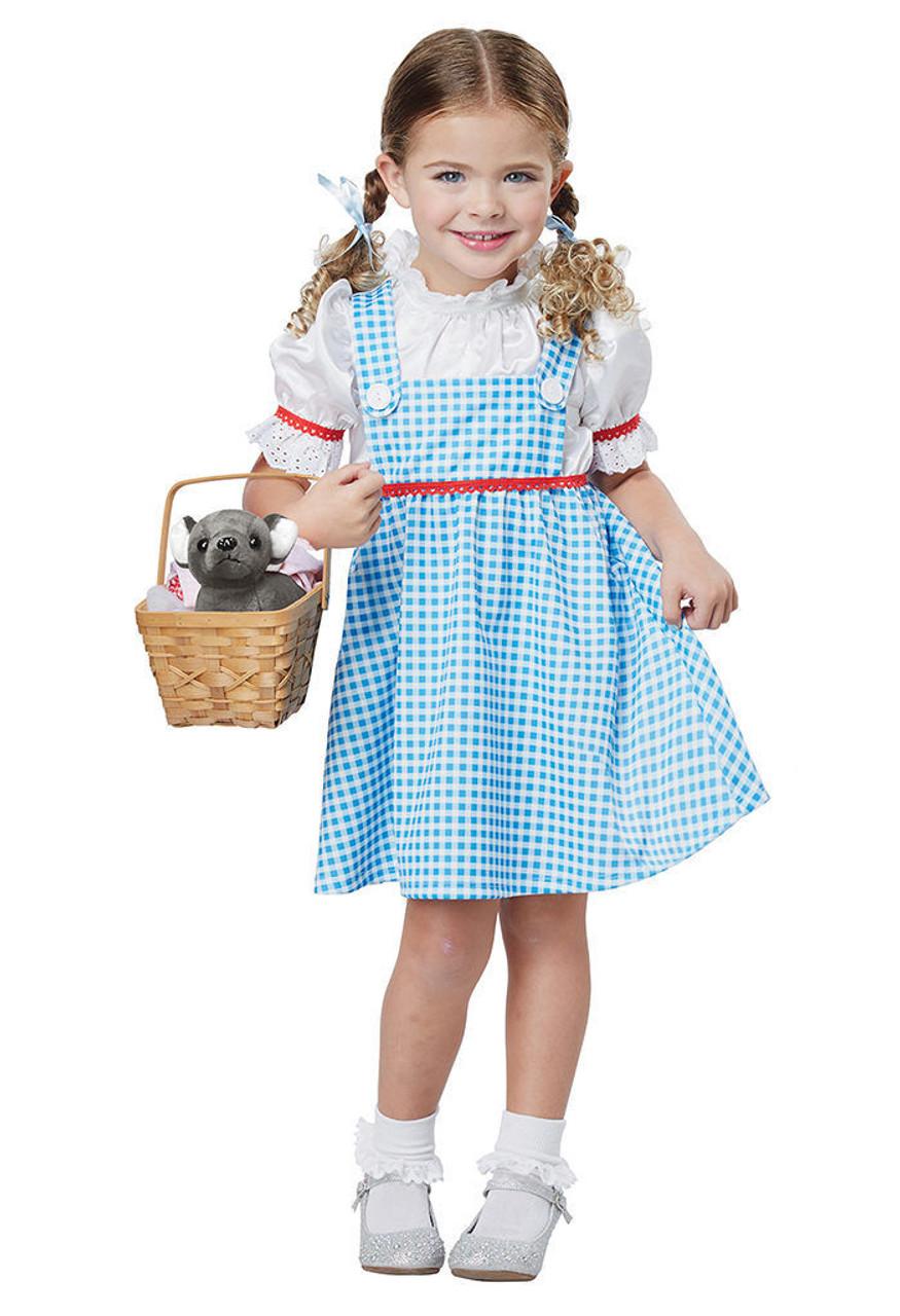 California Costumes Dorothy Wizard Of Oz Girls Toddler Halloween ...